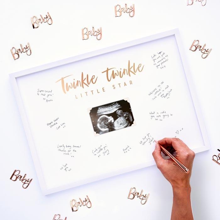 Goede Alternatief gastenboek fotolijst Twinkle Twinkle Ginger Ray VY-42