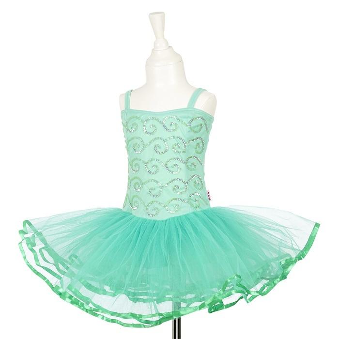 Super Tutu jurk Sheila mint groen Souza   Partydeco.nl BP-86