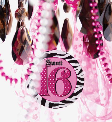 Sweet 16 verjaardag versiering - Deco slaapkamer meisje jaar ...