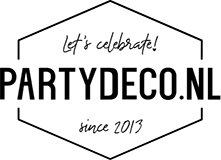 Gebaksservetten gestreept Aqua (20st)