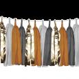 Tasselslinger oker (3m) Delight Department