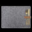 Placemats vilt grijs (4st) Delight Department
