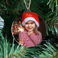 Gepersonaliseerde kersthanger met foto
