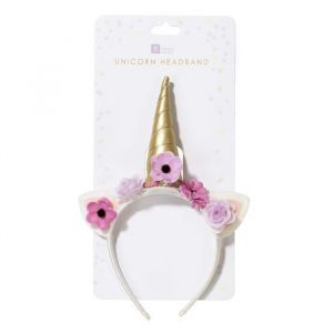 Unicorn haarband floral