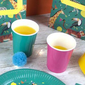 Bekertjes kleurrijk (12st) Talking Tables