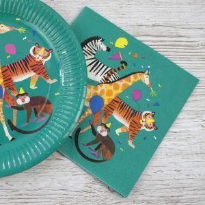 Servetten Party Animals (20st) Talking Tables