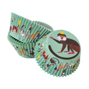 Cupcake cases Party Animals (30st) Talking Tables