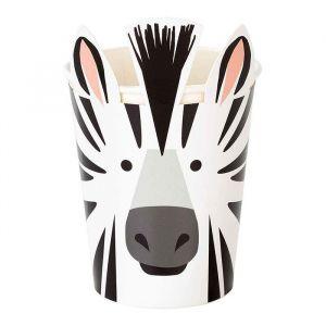 Bekertjes Zebra Party Animals (8st) Talking Tables