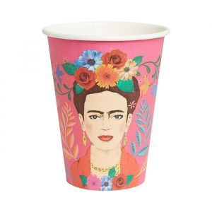Boho bekers groot Frida Kahlo (8st) Talking Tables