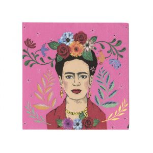 Boho gebaksservetten Frida Kahlo (20st) Talking Tables