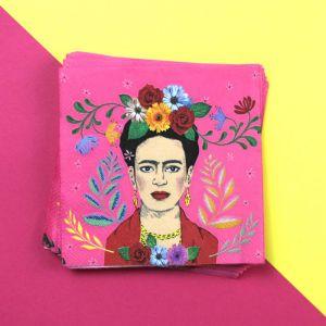 Boho gebaksservetten Frida Kahlo (20st) Talking Tables