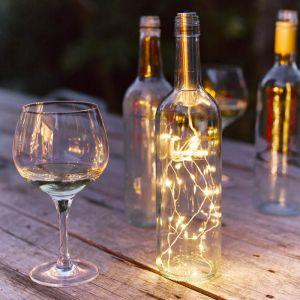 Sfeerlicht voor wijnfles Talking Tables
