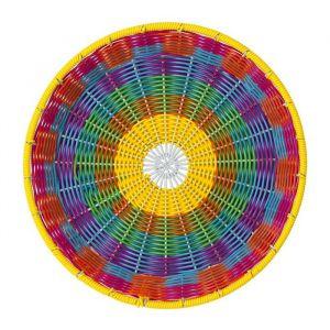 Boho schaal gewoven kleurrijk Talking Tables