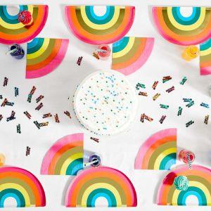 Servetten regenboog (16st) Birthday brights Talking Tables