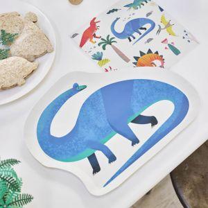 Dinosaurus bordjes (12st) Party Dinosaurs Talking Tables
