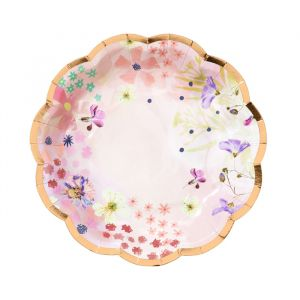 Gebaksbordjes Blossom Girls (12st) Talking Tables