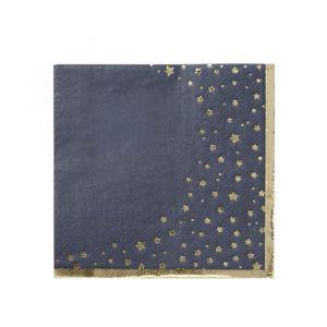 Servetten gouden sterren (16st) Talking Tables