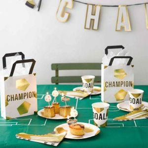Uitdeeltasjes Party Champion (6st) Talking Tables