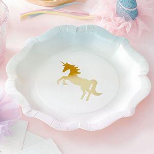 We Heart Unicorns bordjes (12st) Taling Tables