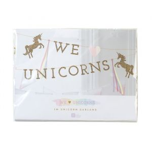 We Heart Unicorns slinger Talking Tables