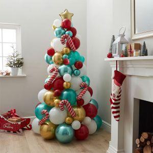 Ballonnen kerstboom Novelty Merry Everything Ginger Ray