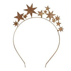 Diadeem gouden sterren Merry Everything Ginger Ray