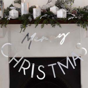 Slinger Merry Christmas acryl Season for Silver Ginger Ray