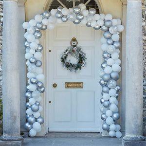 Ballonnenboog deur zilver Season for Silver Ginger Ray