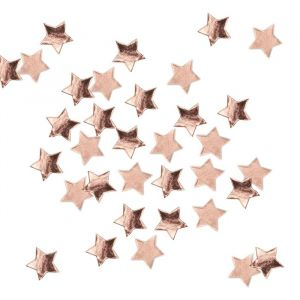 Confetti sterren roségoud Rose Gold Metallic Star