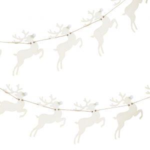 Houten slinger rendieren Rustic Christmas