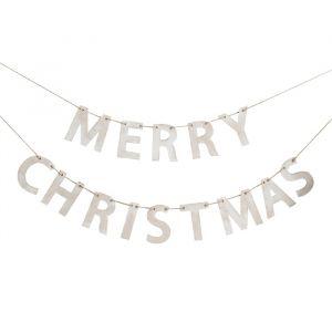 Houten slinger Merry Christmas Rustic Christmas