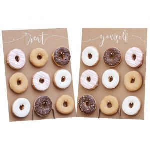 Donut Wall Rustic Country Ginger Ray