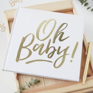 011-5222 Gastenboek Oh Baby! Ginger Ray