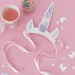 Feesthoedjes Unicorn (8st) Make A Wish Unicorn Ginger Ray