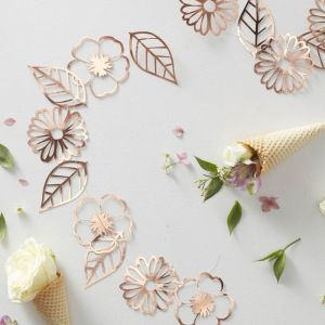 Slinger bloemen roségoud Ditsy Floral Ginger Ray