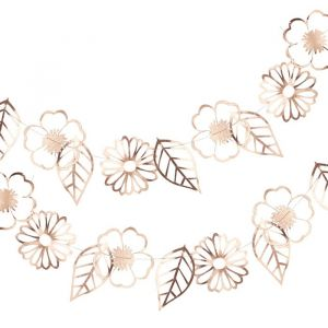 Slinger bloemen cut out roségoud Ditsy Floral Ginger Ray