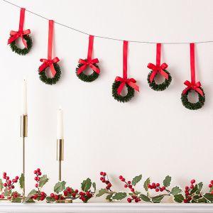 Slinger kerstkransen Traditional Touches Ginger Ray