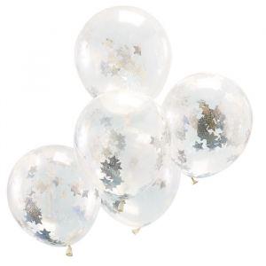 Confetti ballonnen sterren holografisch Jolly Vibes