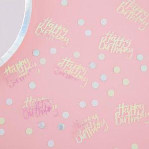 Tafelconfetti Happy Birthday Pastel Party Ginger Ray