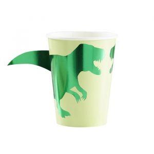 Dinosaurus bekertjes Roarsome (8 st) Ginger Ray