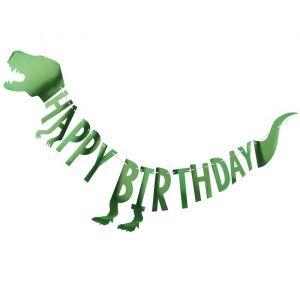 Dinosaurus slinger Happy Birthday Roarsome Ginger Ray