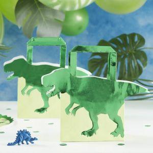 Dinosaurus tasjes Roarsome (5 st) Ginger Ray sfeer