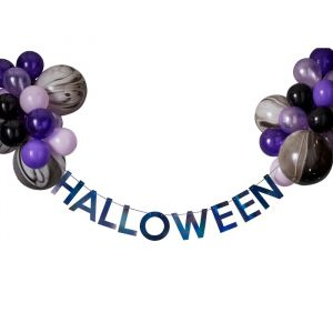 Slinger Halloween met ballonnen Let's Get Batty