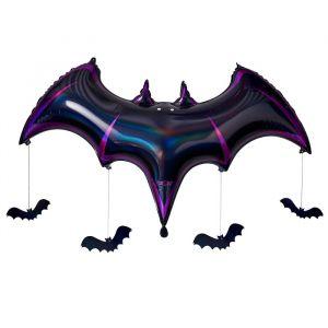 Folieballon vleermuis Let's Get Batty Ginger Ray
