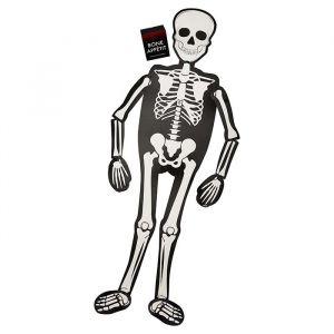 Serveerplank Skelet Fright Night Ginger Ray