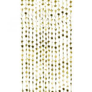 Feestgordijn sterren goud Pop The Bubbly Ginger Ray