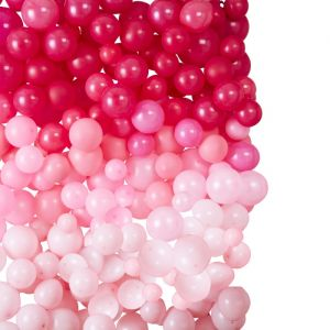 Ballonnenmuur ombre roze Star Gazer Ginger Ray