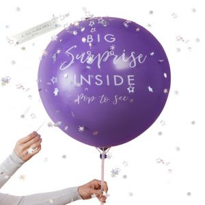 Mega ballon Gift Reveal Star Gazer Ginger Ray