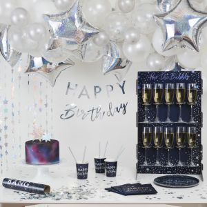 Prosecco wall Pop The Bubbly Star Gazer Ginger Ray