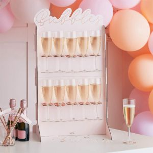 Prosecco Wall Bubbles Ginger Ray